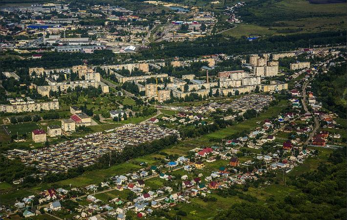 Село Бокино и посёлок Строитель
