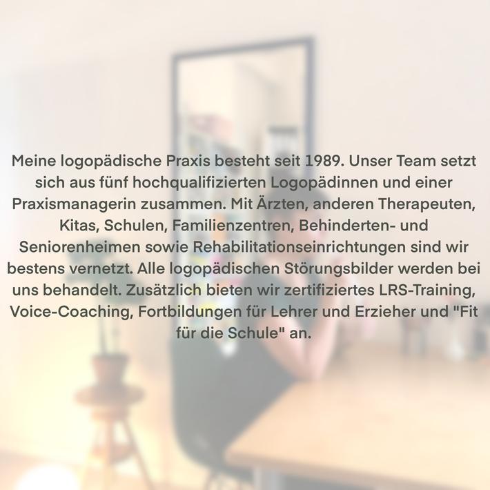 Logopädie Stimmstörung Aphasie Kindersprache Phoniatrie Düsseldorf Therapie Rehabilitation