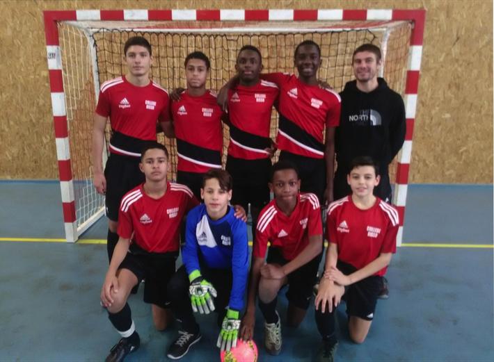 Équipe Minimes Collège Antoine Risso, qualifiée pour les Championnats de France 2019.