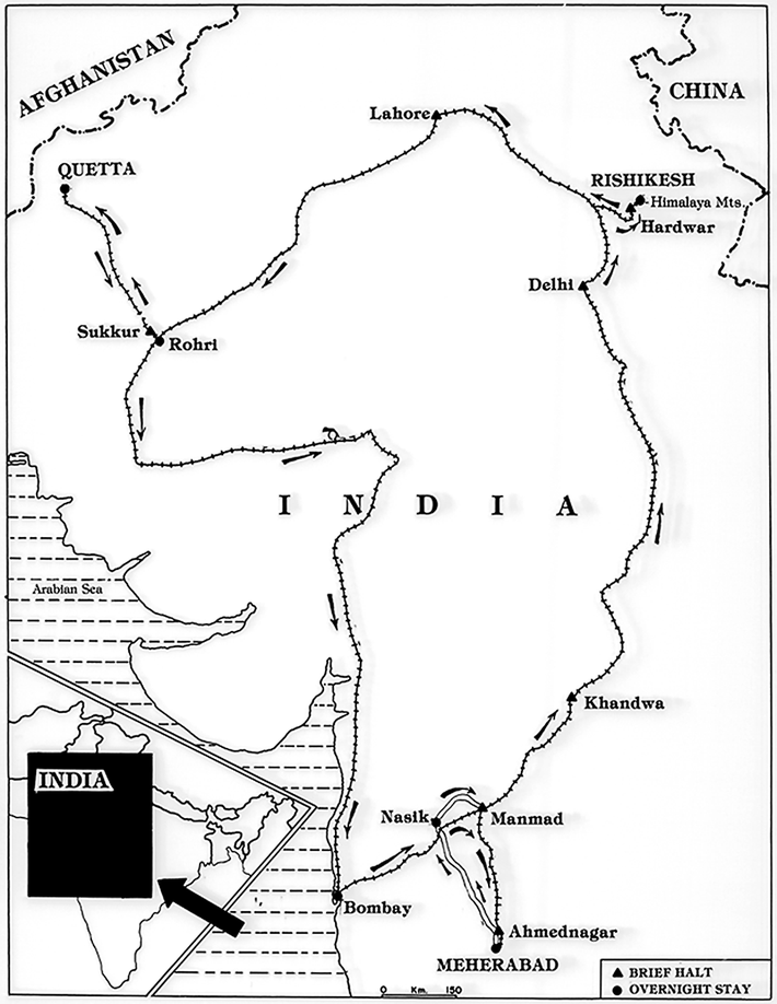 Rishikesh Trip, 1929
