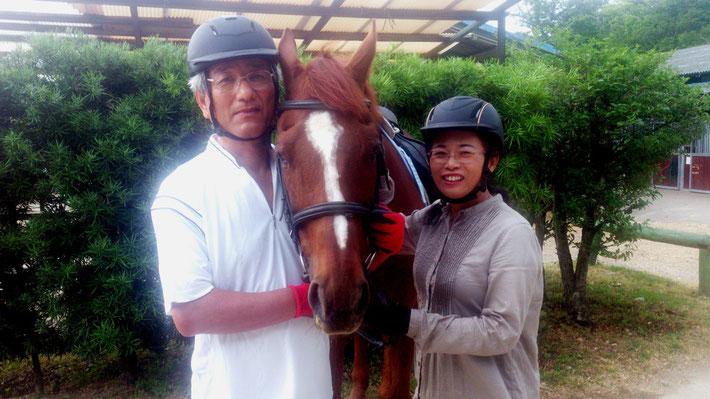 高山さんの馬に乗る理由
