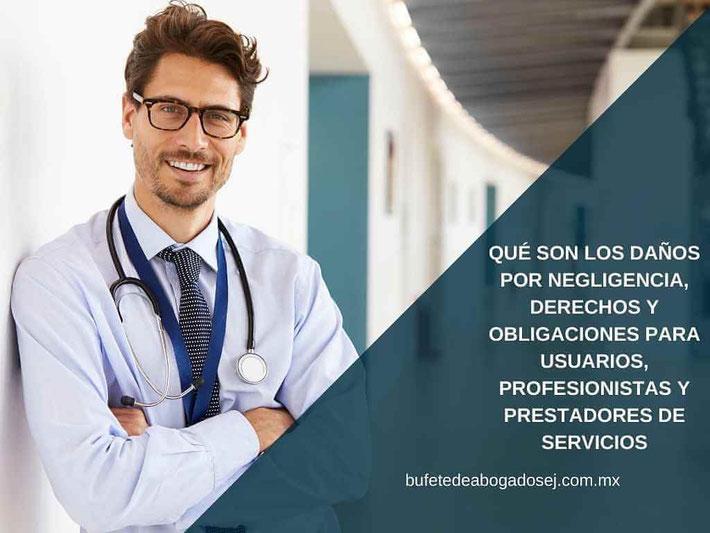 negligencia profesional - negligencia médica - bufete de abogados