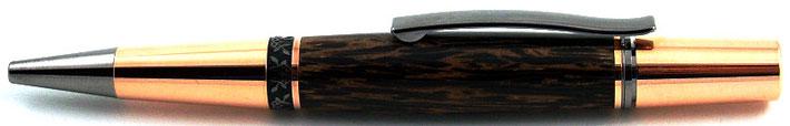 Drehkugelschreiber aus Black Palmira Holz