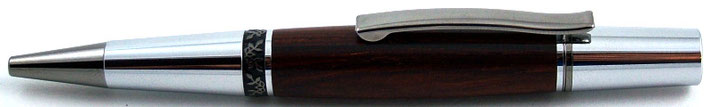Drehkugelschreiber aus Cocobolo Holz