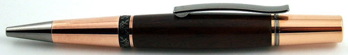 Drehkugelschreiber aus Palisander Holz