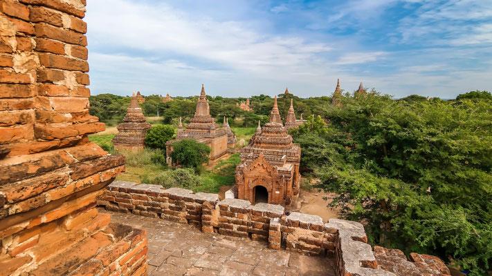 Tempel und Pagoden von Bagan