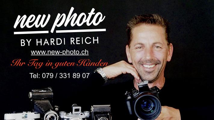 Mein Partner für das Festhalten Ihrer schönsten Momente. New Photo by Hardi Reich                             ...einfach ins Bild klicken!
