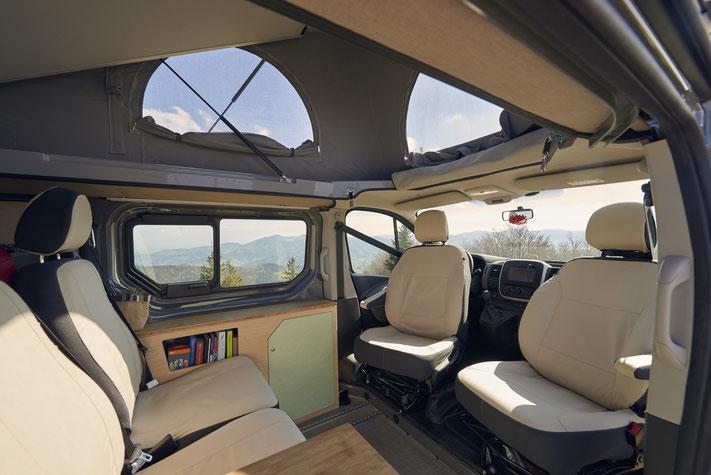 Innenansicht Renault Trafic Camper
