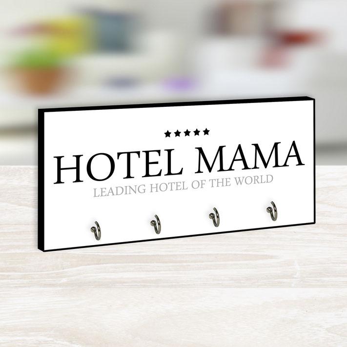 Hotel Mama Schlüsselbrett Holz