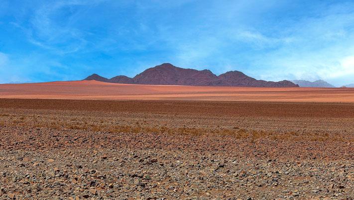 Apparition fantomatique, désert du Namib