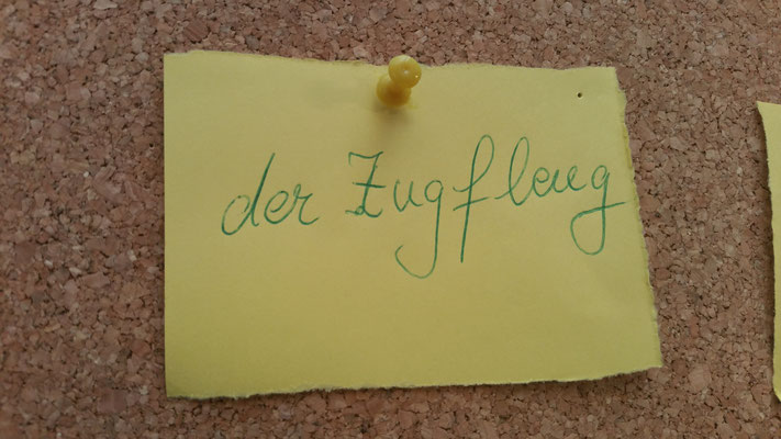 Im Deutsch-Kabinett.