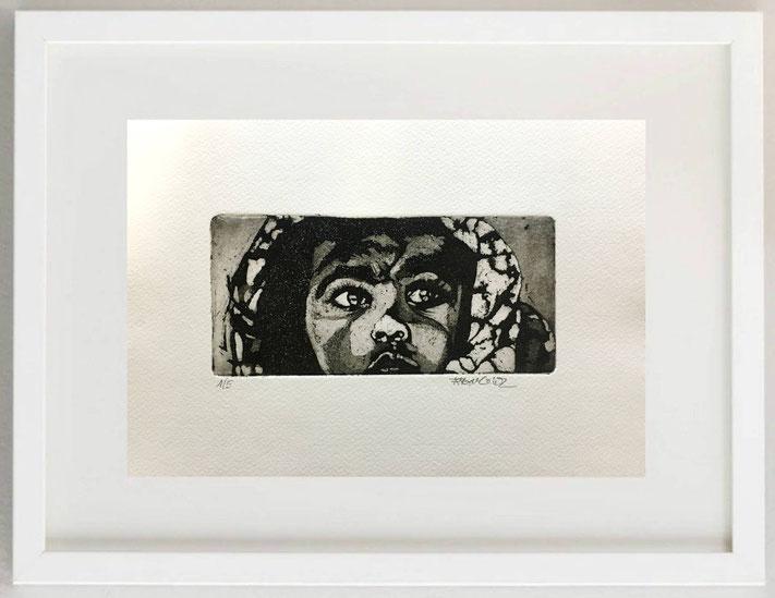 """11 /  MONICA SARANDREA, """"SOTTILI EMOZIONI"""", 2018, acrilico su carta, 30 x 20 cm."""
