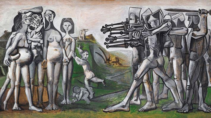 """P. Picasso, """"Massacro in Corea"""" 1951"""