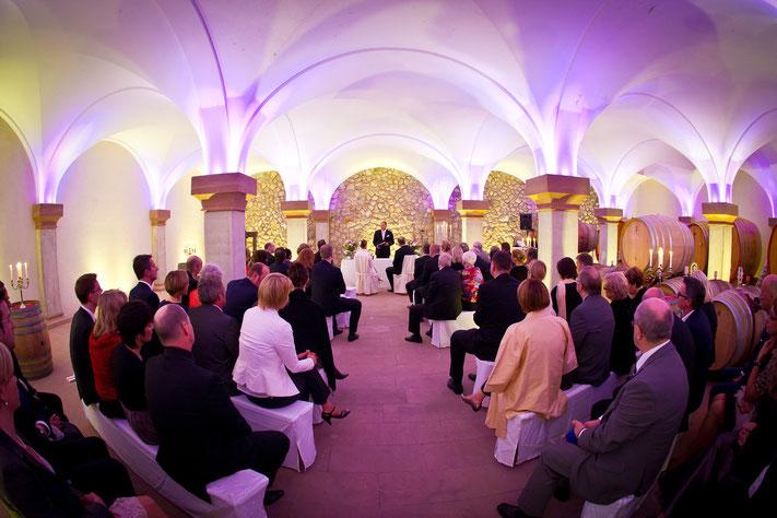freie Trauung Weingut Zeremonie Hochzeit Weingut Rheingau Rheinhessen Pfalz Weingut freie Trauung