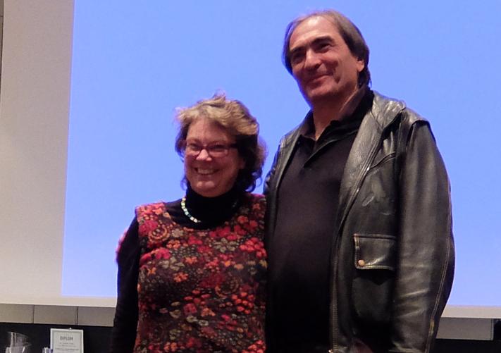 Gewinner im Mixed Double. Sabine Hildebrandt und Thomas Kazemieh