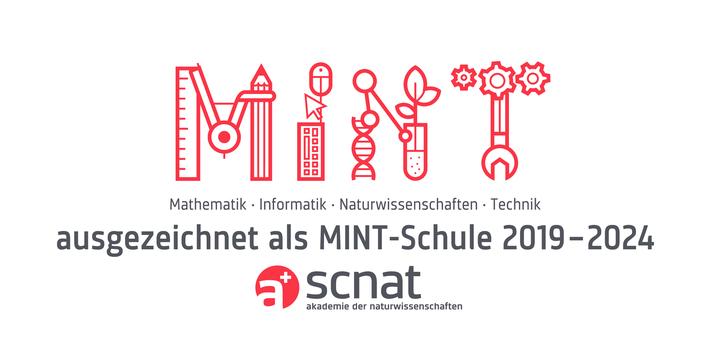 """Das Label """"MINT-aktives Gymnasium"""" der Akademie der Naturwissenschaften Schweiz SCNAT"""