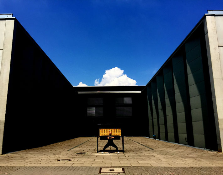 Erol Alp an der Hochschule für Musik auf dem Gelände der Johannes Gutenberg-Universität in Mainz