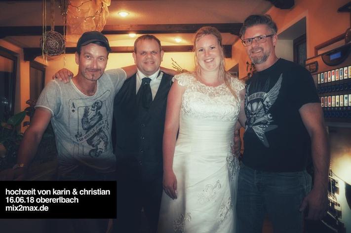 Hochzeitsband & Partyband mix2max, in Obererlbach, Mittelfranken / Bayern