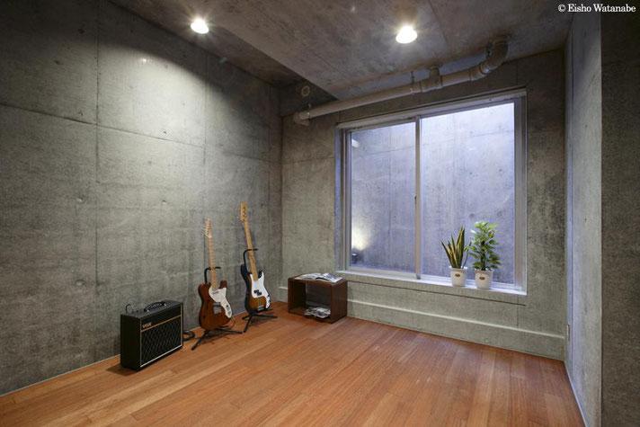地下室防音室