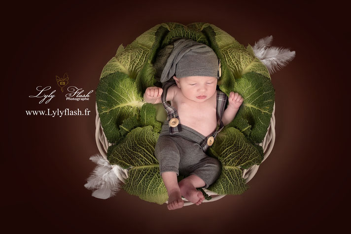 photographe naissance var bébé nouveau-né choux