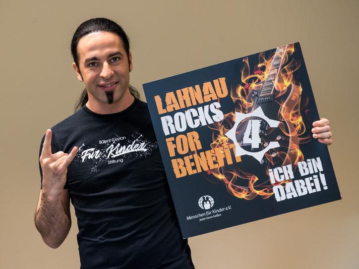 Bülent Ceylan ist bei Lahnau rocks for Benefit am 7. März 2020