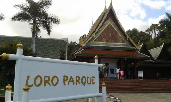 Eingang zum Loro Park