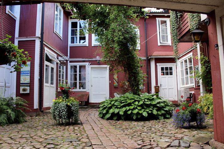 Innenhof in Eksjö, Smaland