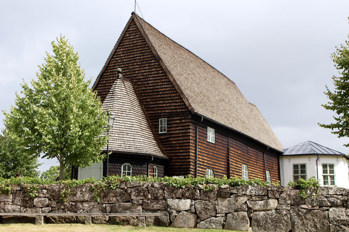 Holzkirche in Pelarne