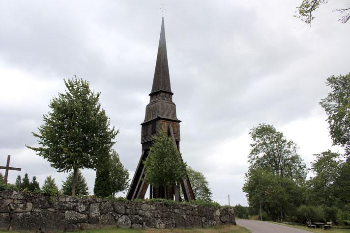Glockenturm in Pelarne