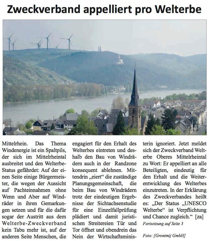 Rhein-Hunsrück-Anzeiger v. 19.08.2015 (Seite 1)