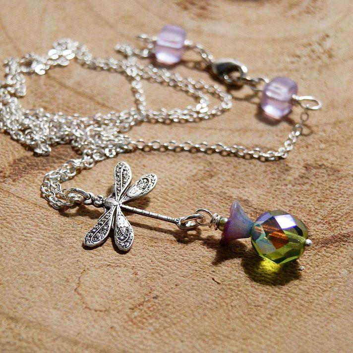 top 10 fantasy sieraden voor Outlander fans ketting met dragonfly