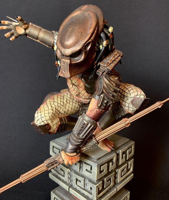 Predator 2 Diorama 28cm Polystone Sideshow