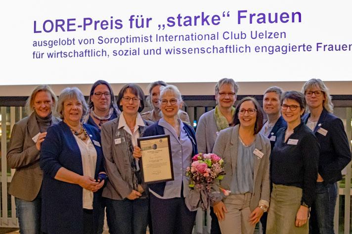 Die Unternehmerfrauen im Handwerk Uelzen/Lüchow-Dannenberg Foto: Cordula Marienberg