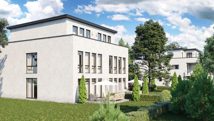 Doppelhaushälfte als exklusives Einfamilienhaus in Bergisch Gladbach