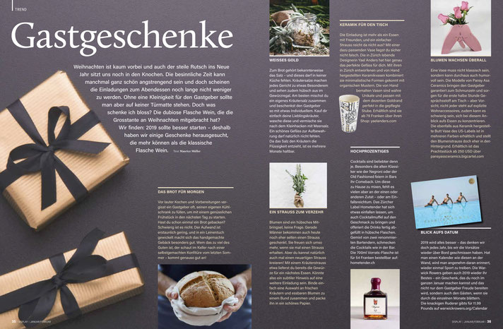 Yael Anders Products at Display Magazine