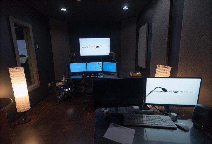 WOWMAX next スタジオ内観イメージ