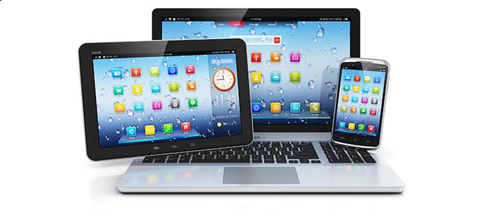 PC,Tablet und Smatphone
