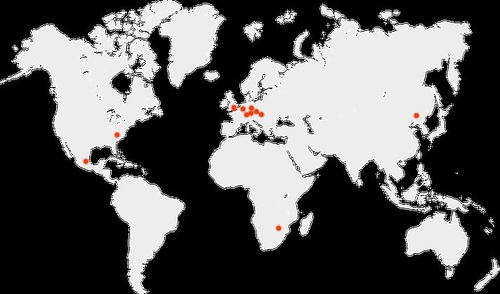 Unsere Referenz-Projekte - unsere Expertise ist mittlerweile weltweit gefragt und bekannt