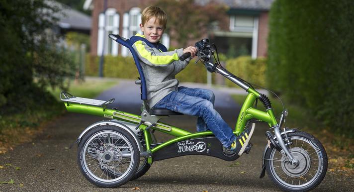Beratung zu Elektro-Dreirädern für Kinder bei Ihrem Experten