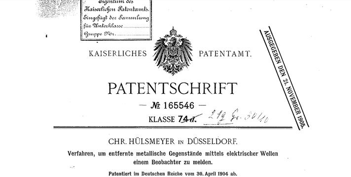 Patent Deckseite. Quelle: Wikimedia Commons. Gemeinfrei.