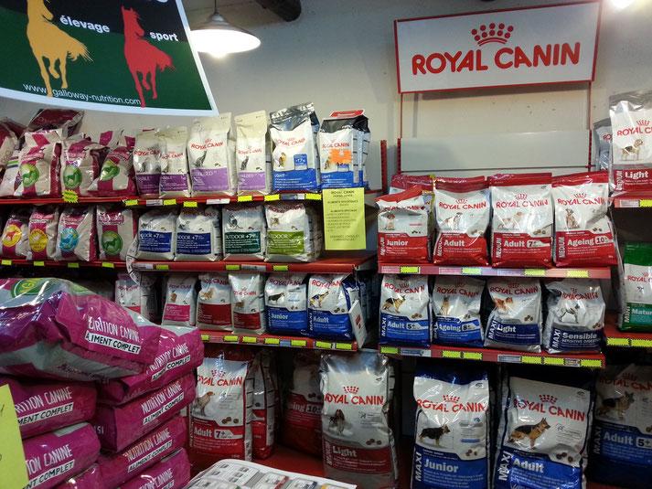 rayon royal canin