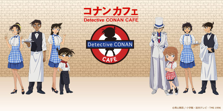 detective conan cafe open in Japan