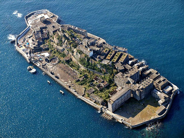 Hashima aka BattleshipIsland Source: Wikipedia