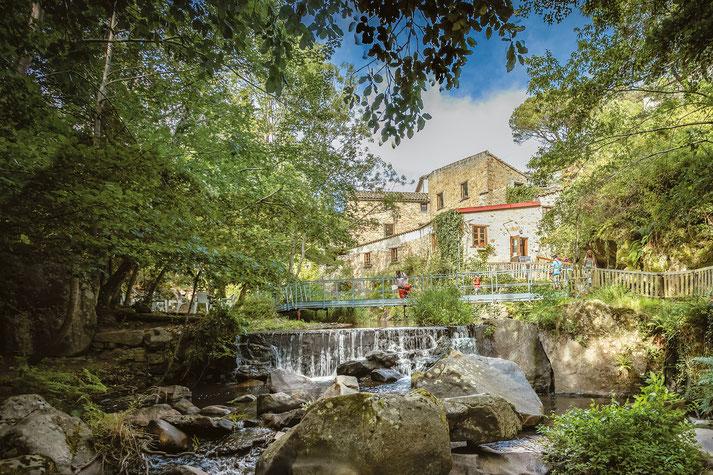 moulin à papier de brousses et villaret dans l'Aude