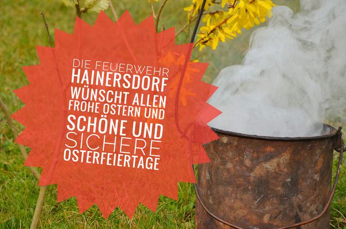 Frohe Ostern Feuerwehr Hainersdorf