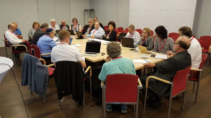 Task Force Meeting with UNESCO Representatives OCCE 2018, Linz