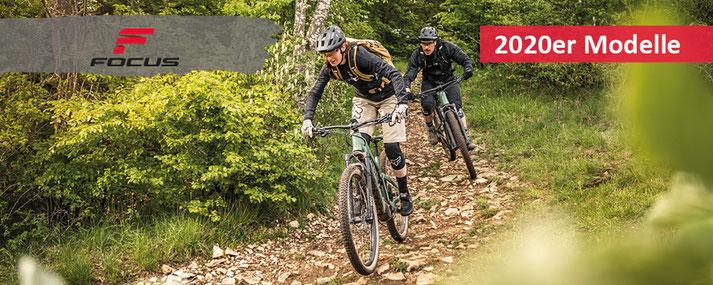 Focus Trekking e-Bikes/e-Mountainbikes/e-Rennräder 2020