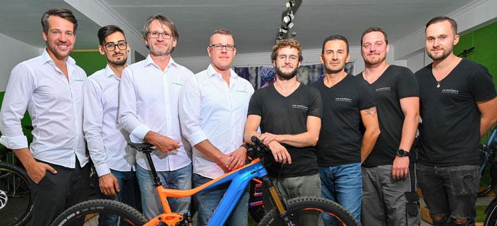Kostenlose Beratung, Probefahrt und Vergleich von Trekking e-Bikes in der e-motion e-Bike Welt in Frankfurt
