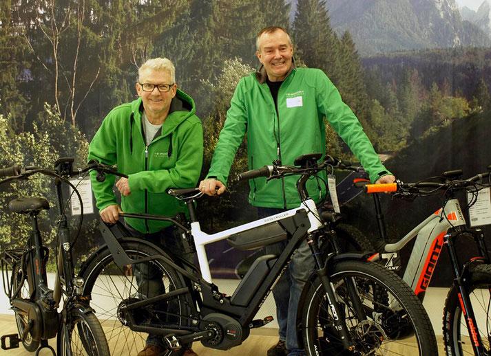 Das Experten-Team der e-motion e-Bike Welt Oberhausen