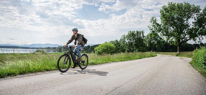 Akku bei einem e-Bike